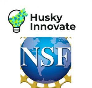 Husky Innovate and National Science Foundation Logos